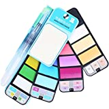 #9: 18 Pastel Color Travel Watercolor Set - Foldable & Portable Watercolor Paint Set for Field Sketch Outdoor Painting