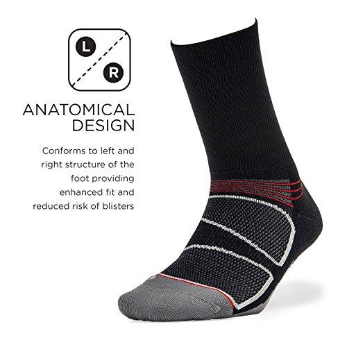 Feetures - Elite Light Cushion - Mini Crew - Athletic Running Socks for Men and Women