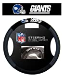New York Giants NFL Poly-Suede Steering Wheel Cover