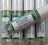 English Garden Perfume Oil, Roll-on - Roses, Violets, Bergamot, Lilac, Chamomile, Lavender