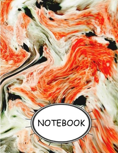 Notebook Watercolor 2  Journal Diary, Lined pages (Composition Book Journal) (8.5 x 11) [Hayden, Lucy] (Tapa Blanda)