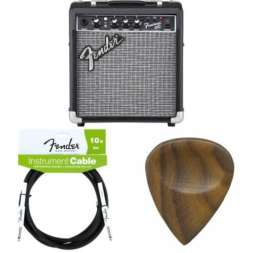 Fender Frontman 10G Electric Guitar Amplifier with Cable and Guitar Picks - Fender Electric Power Amps