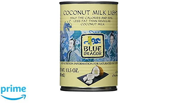 Blue Dragon Coconut Milk, Light, 13.5 Ounces (Pack of12): Amazon.com: Grocery & Gourmet Food
