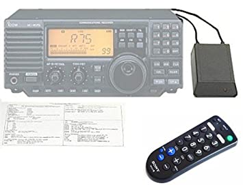 INFRARED REMOTE CONTROL SYSTEM for the ICOM R-75 Shortwave Radio