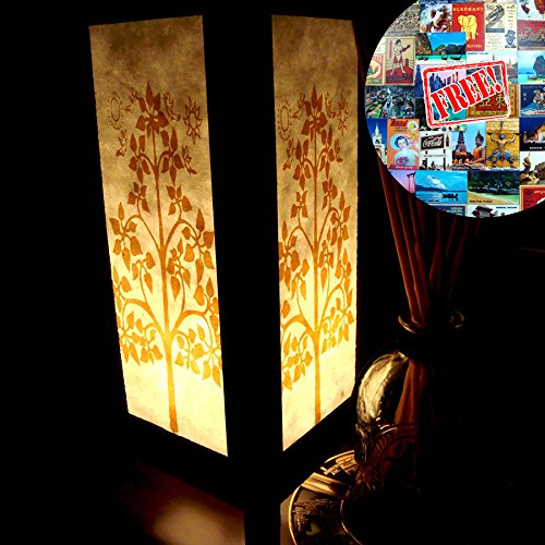 golden-bodhi-tree-white-handmade-asian-oriental-wood-gift-bedside-night-light-bulbs-bedroom-home-dec