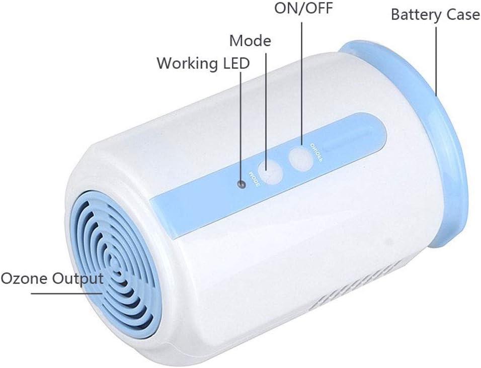 NeoMan Home generatore di ozono frigo Cibo Frutta Verdura Salute Scarpe Guardaroba Auto disinfettare sterilizzatore O3/ionizzatore purificatore d Aria Fresca Bianco S308