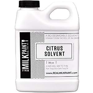 Real Milk Paint Citrus Solvent - 16 oz