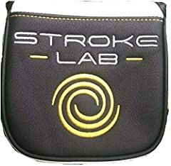 New Odyssey Stroke Lab OEM Magnetic XL Mallet Putter Headcover Brand: Odyssey Model: Stroke Lab XL Mallet Color: Black/White/Yellow Closure: Magnetic Condition: New!!