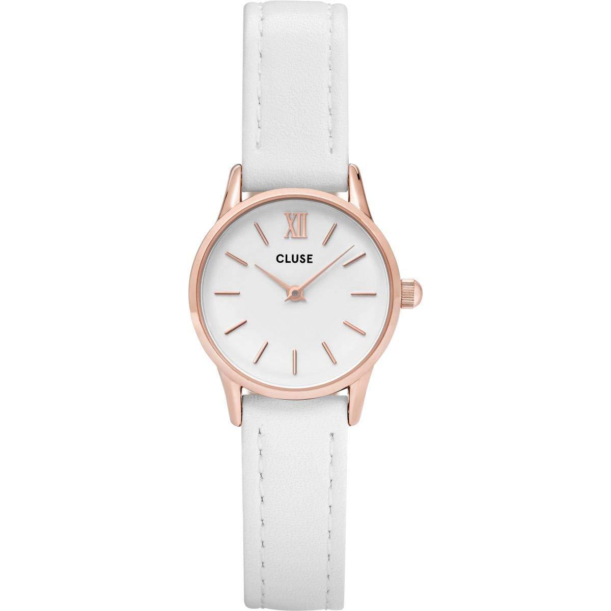 Cluse Reloj Analógico para Mujer de Cuarzo con Correa en Cuero CL50030: Amazon.es: Relojes