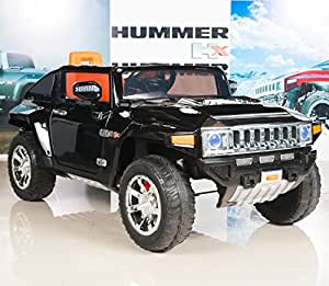 Hummer HX Kids Ride On Truck/Car 12V Battery Powered Wheels with RC Remote Control - Black