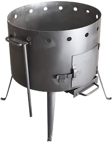 Kazan 28 L казан учак учаг Kazan saucepan roaster on the fire печка Utschak