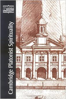 Book Cambridge Platonist Spirituality (Classics of Western Spirituality)