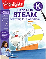 Kindergarten Hands-On STEAM Learning Fun Workbook (Highlights Learning Fun Workbooks)