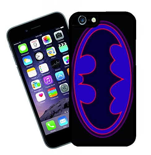 Batman Logo 2 - This cover will fit Apple model iPhone 7 (not 7 plus) - By Eclipse Gift Ideas