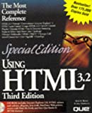 img - for Special Edition Using HTML 3.2 book / textbook / text book