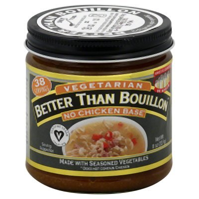 Chicken Base Recipes - Betterthan Bouillon Vegetarian, Non Chicken Base, 8 Ounce - 6 per case.