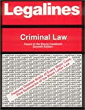 Criminal Law : Keyed to the Boyce Casebook, Spectra, 0159000807