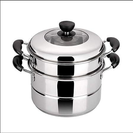 WSJ - Batería de cocina de acero inoxidable, olla de vapor ...