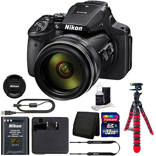 Nikon Coolpix p900 16 MPデジタルカメラwith 32 GB Top Accessoryバンドル   B01I0G1R6Q