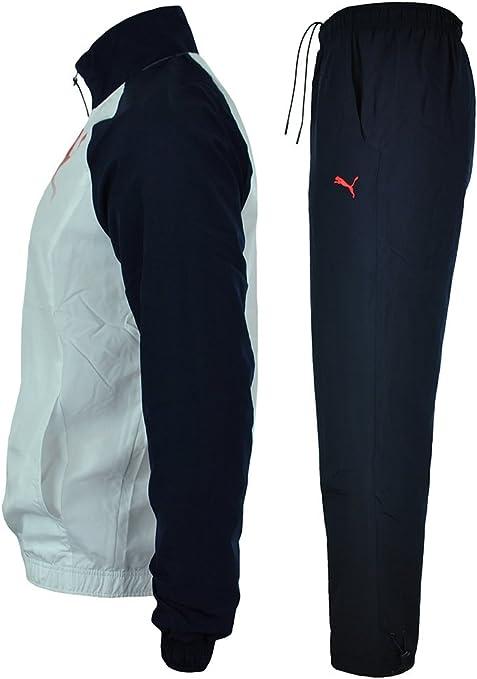 Puma Decimas Graphic Woven Suit Hombres Sport chándal Jogging ...