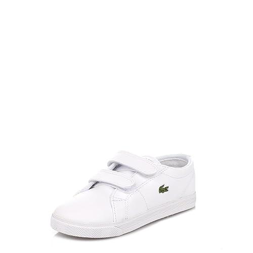 Lacoste Niños Blanco Marcel LCR Zapatillas: Amazon.es: Zapatos y complementos