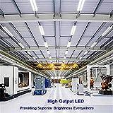 SHOPLED 8FT LED Shop Light Fixture, 72w 7200 Lumens