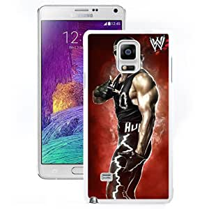 Customized Samsung Galaxy Note 4 Cell Phone Case Wwe Superstars Collection Wwe 2k15 Hulk Hogan 01 in White Phone Case For Samsung Galaxy Note 4 Case