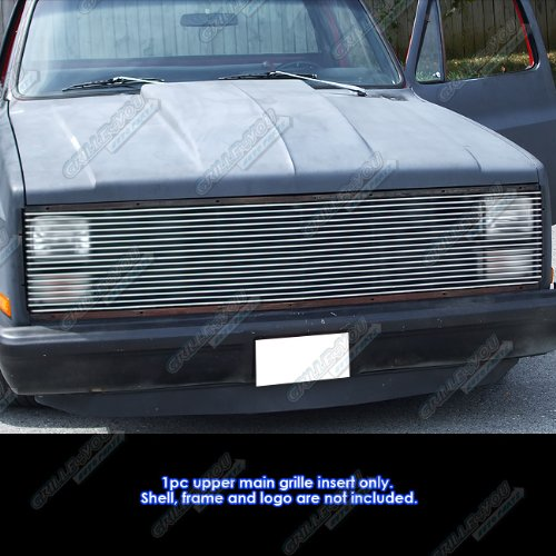 (APS 81-87 Chevy GMC Pickup/Suburban/Blazer/Jimmy Phantom Billet Grille Grill 90#N19-A20258C)