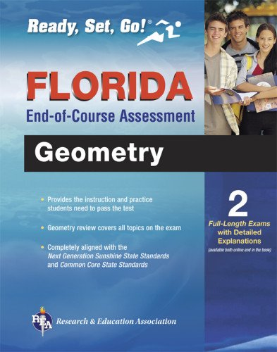 Florida Geometry End-of-Course Assessment Book + Online (Florida FCAT & End-of-Course Test Prep)