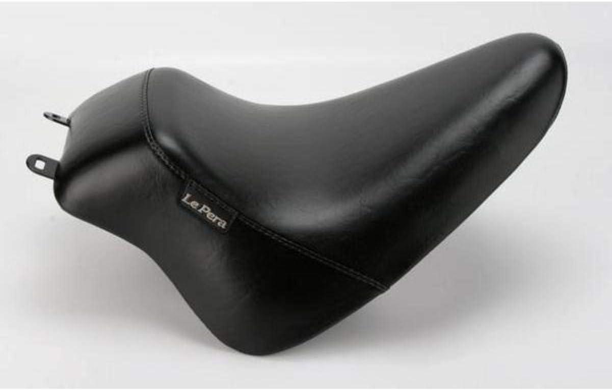 08-16 HARLEY FLHX2 Black Standard Le Pera Bare Bones Up Front Solo Seat