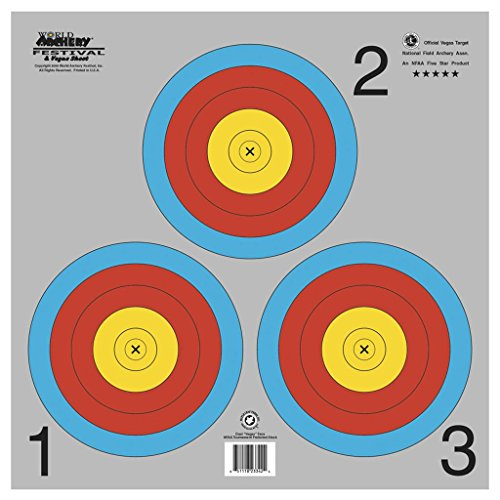 Maple Leaf NAA Official 3-Spot Color Target Vegas (Vegas Target)