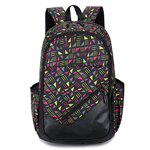Beibao Travel Backpack Shoulder Bags Casual Sports Men And Women Secondary School Bags Backpacks, Pink Pink