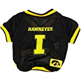 Iowa Hawkeye Dog Jersey Leash & Collar Set Large