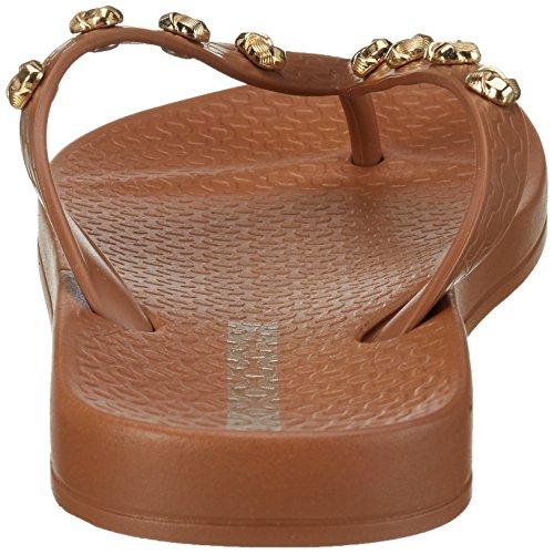 Ipanema Premium Love Knot Fem, Chanclas Para Mujer Braun (brown/brown)