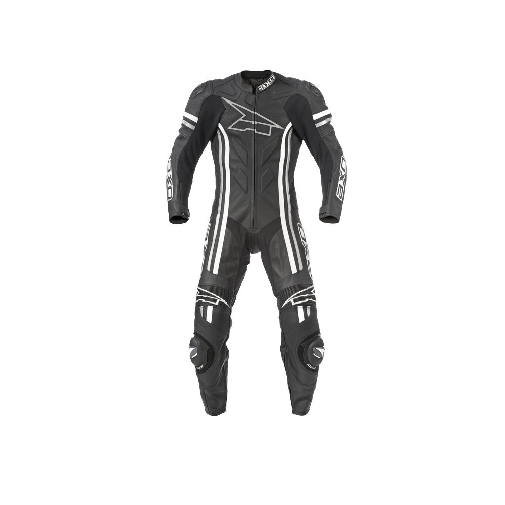 AXO Indy Men's Leather Suit (Black, Size EU 58/Size US 48)
