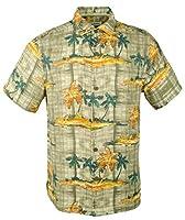 Tommy Bahama Men's Zama Palms IslandZone Camp Shirt-TL-M