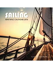 Sailing Mini Wall Calendar 2018: 16 Month Calendar