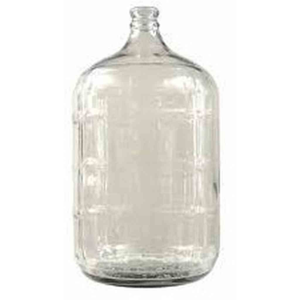 5 Gallon Glass Carboy -Ribbed sides