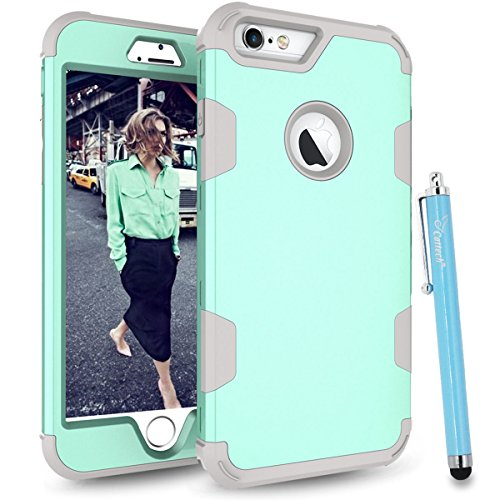 light blue and grey otterbox - 4