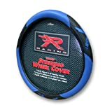 Blue R Racing Velocity Style Steering Wheel Cover