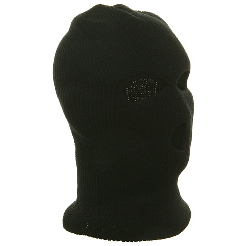 Ski Mask   Tri Hole - Black W11S14D at Amazon Men s Clothing store  b0fa1a8f5