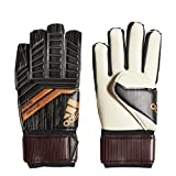 adidas Predator Competition Goalkeeper Gloves, Black/Solar Red/Copper Gold, 5