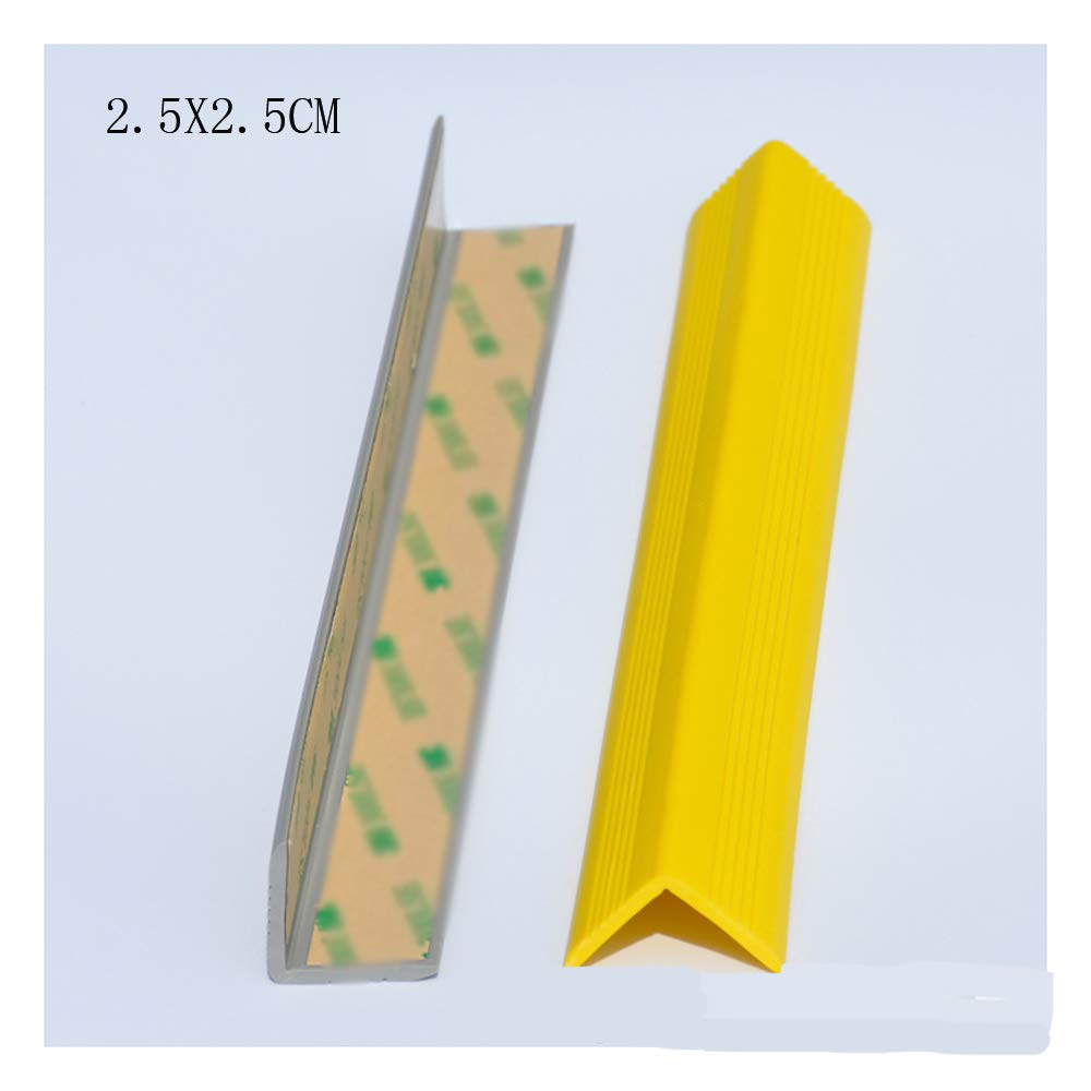 Widened Thickened Anti-Collision Strip Children's School Wall Corner Anti-Smashing Kindergarten Wall Stickers Soft Package Corner Edging Yellow 3 Packs