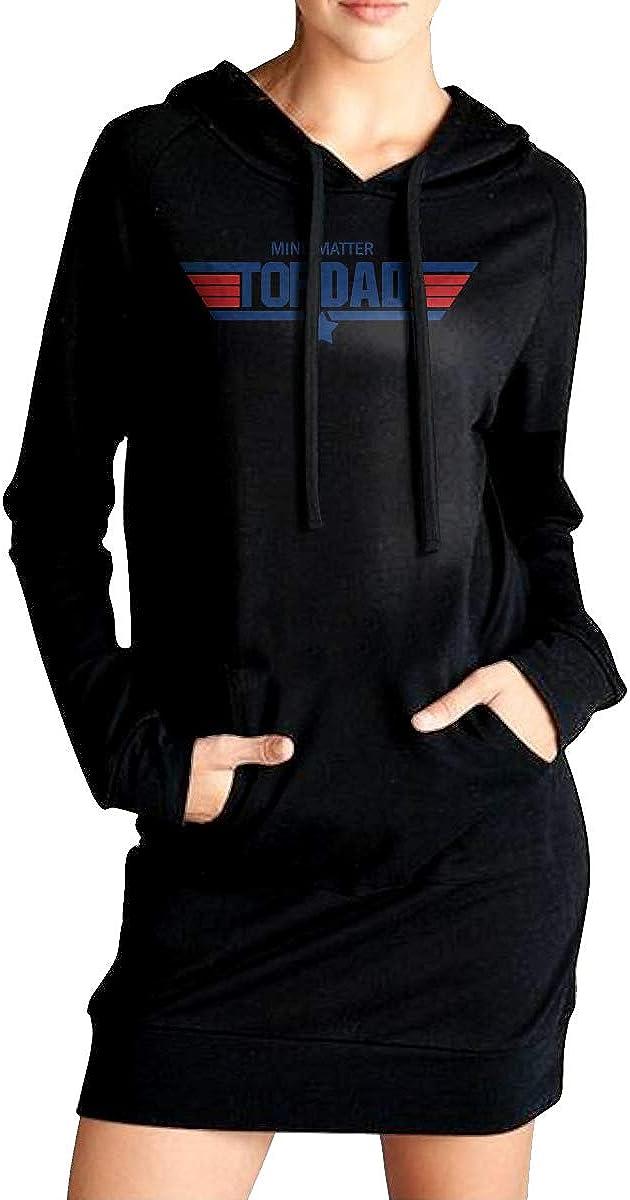TDYUS DesignName Womens Soft Black Hoodies With Pocket
