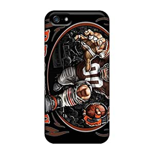 Iphone 5/5s FDp1304hHAJ Support Personal Customs Trendy Cleveland Browns Image Protective Phone Covers -DannyLCHEUNG