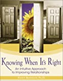 Knowing When It's Right, Nancy Rosanoff, 1570719659