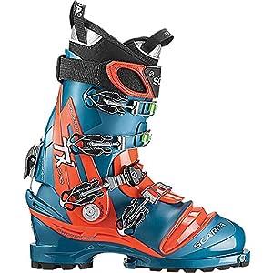 Scarpa Men's Tx Pro Telemark Ski Boot – Lyons Blue/red Orange