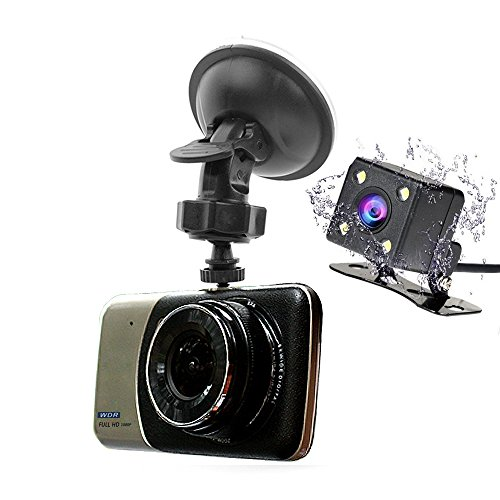 1080P Car Camera Parking Video With Rearview Dual Lens - 4