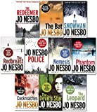 Jo Nesbo Harry Hole Thriller Collection 10 Books Set- Police, Bat, Leopard, Phantom, Devil's star, Cockroaches, Snowman, Redeemer, Redbreast