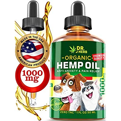 Cat Health Products Hemp Oil for Dogs Cats Natural Hemp Extract Drops 1000 mg Made in USA Natural Dog Pain Relief Pet St [tag]